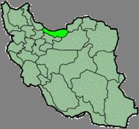 موقعیت مازندران در ایران